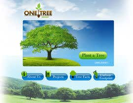 #150 para Website Design for 1 Tree Planted de VIKKISoft