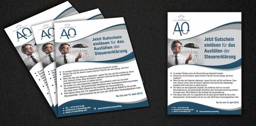 Inscrição nº                                         5                                      do Concurso para                                         Flyer Design for Taxes and retirement insurace