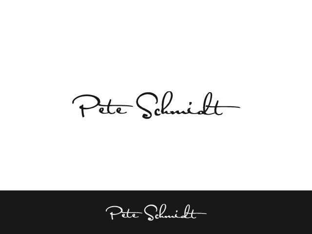 Penyertaan Peraduan #                                        65                                      untuk                                         Logo Design for Pete Schmidt