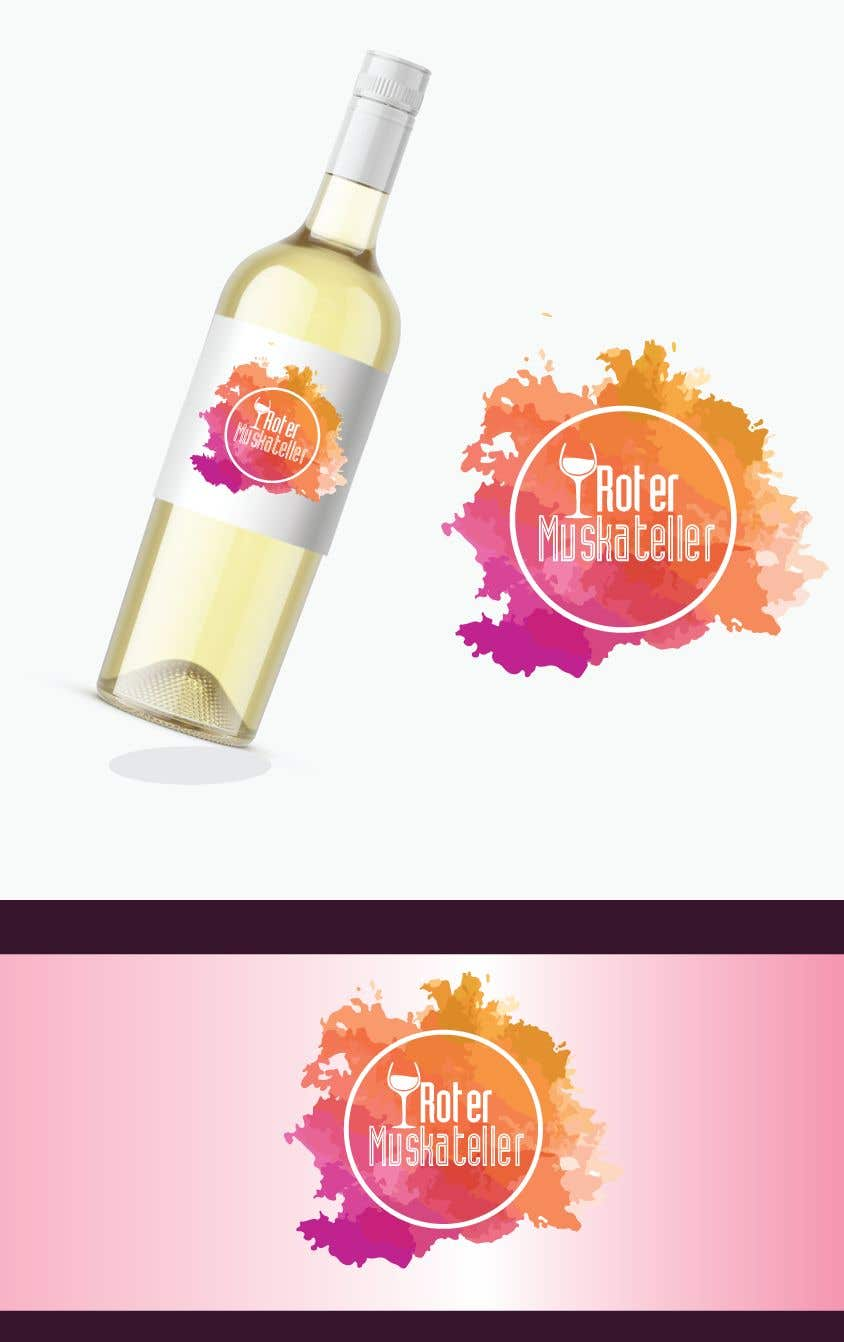 Proposition n°                                        2                                      du concours                                         wine bottle label design