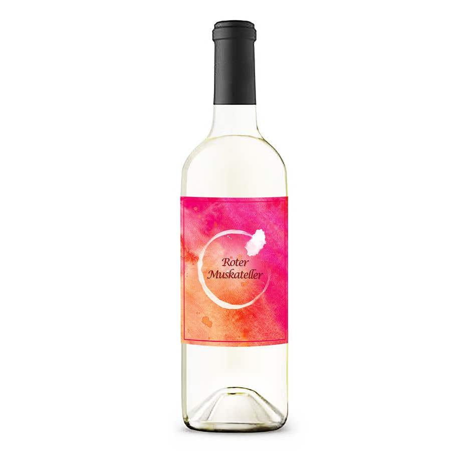 Proposition n°                                        29                                      du concours                                         wine bottle label design