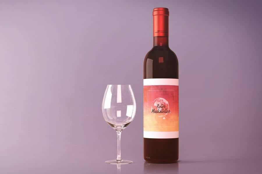 Proposition n°                                        20                                      du concours                                         wine bottle label design