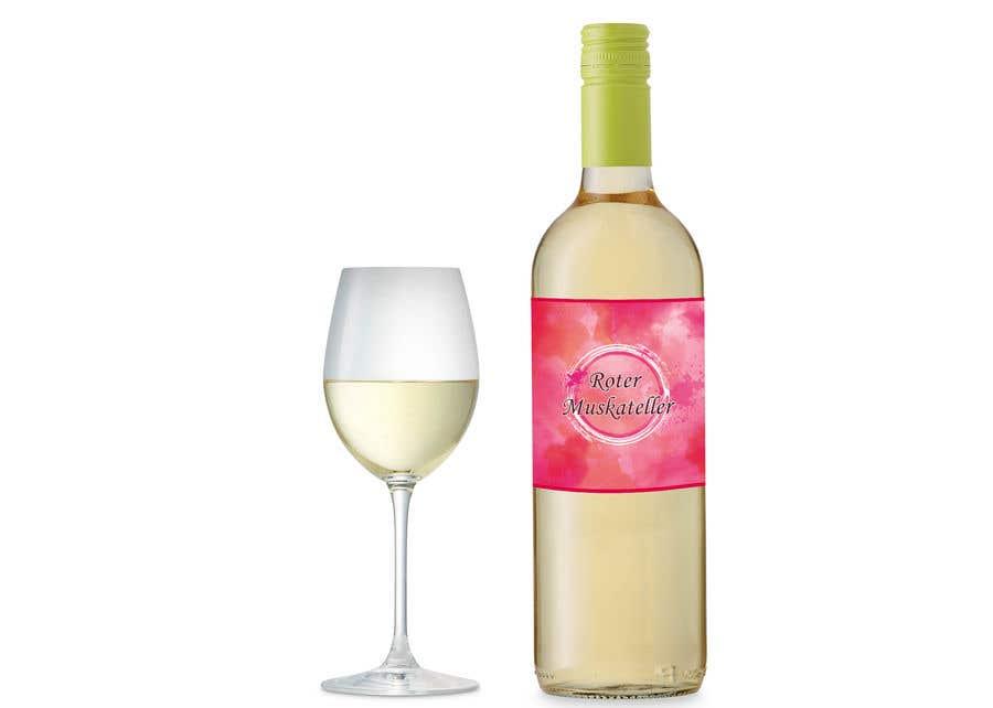Proposition n°                                        28                                      du concours                                         wine bottle label design