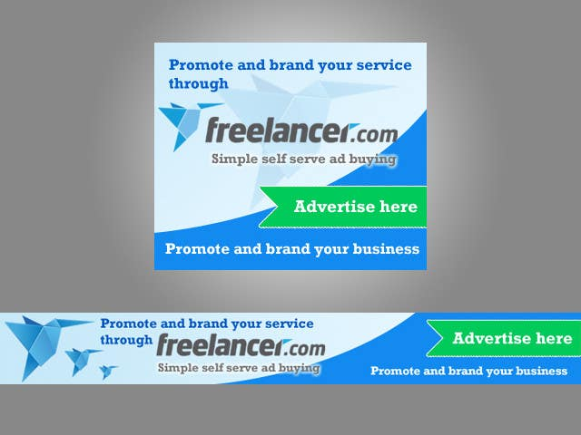 Inscrição nº                                         124                                      do Concurso para                                         Banner Ad Design for Freelancer.com