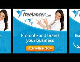 #134 for Banner Ad Design for Freelancer.com af zoomdesign