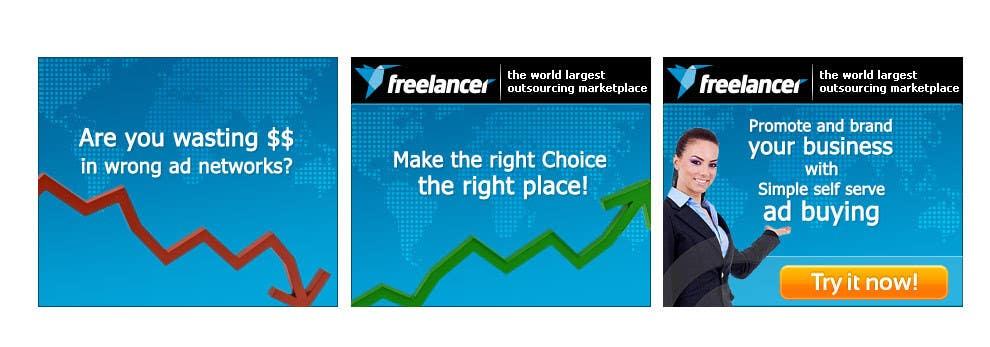 Contest Entry #                                        127                                      for                                         Banner Ad Design for Freelancer.com