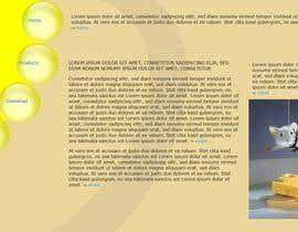 Nro 7 kilpailuun HTML/CSS DESIGN & Alignments käyttäjältä powderkola