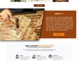 #91 for Create a website for a fine woodworking af carmelomarquises