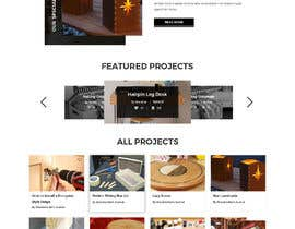 #83 for Create a website for a fine woodworking af adixsoft