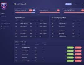 #15 cho Create a Fantasy Football UI Mockup of 2 Screens bởi pposhiya3669