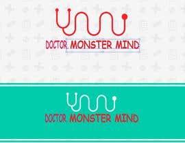 #50 for illustrative logo Dr.Monster Mind af nazma1996