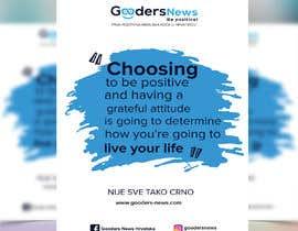 #130 для Flyer Design for Gooders News от Emon9719