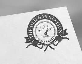 #54 untuk I need a cool trendy standout logo for THE OLD GAS STATION BAR AND GRILL oleh talha609ss