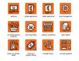 #5 for Design 20 icons (same style/look & feel) by ARTworker00
