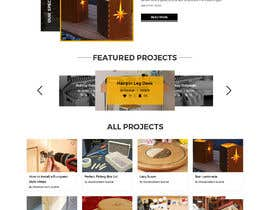 #65 for Create website for a fine woodworking by adixsoft