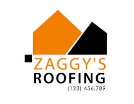 #115 cho Logo Design for Zaggy's Roofing bởi vukvesovic