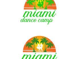 """#70 для Logo design for """"Miami Dance Camp"""" от pranadibroy"""