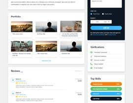 #71 for Design the ultimate profile page for Freelancer.com! by Elfennani