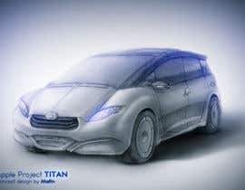 #218 for Create a design for the rumored Apple Electric Car by Matin518