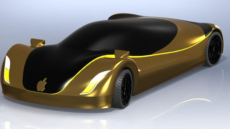 Contest Entry #                                        129                                      for                                         Create a design for the rumored Apple Electric Car