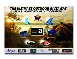 nº 34 pour OUTDOORS GIVEAWAY par irfananis07