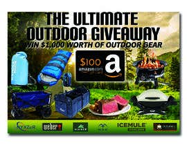 nº 36 pour OUTDOORS GIVEAWAY par irfananis07