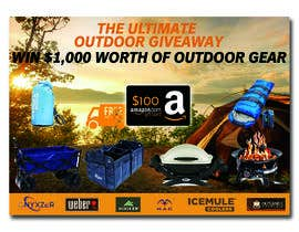nº 52 pour OUTDOORS GIVEAWAY par irfananis07