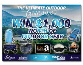 nº 56 pour OUTDOORS GIVEAWAY par irfananis07