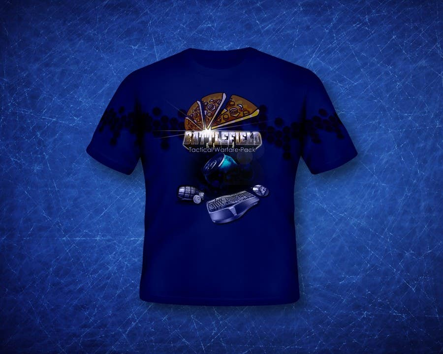 Proposition n°                                        16                                      du concours                                         Battlefield Tactical Warfare Pack [Gaming] T-shirt Design