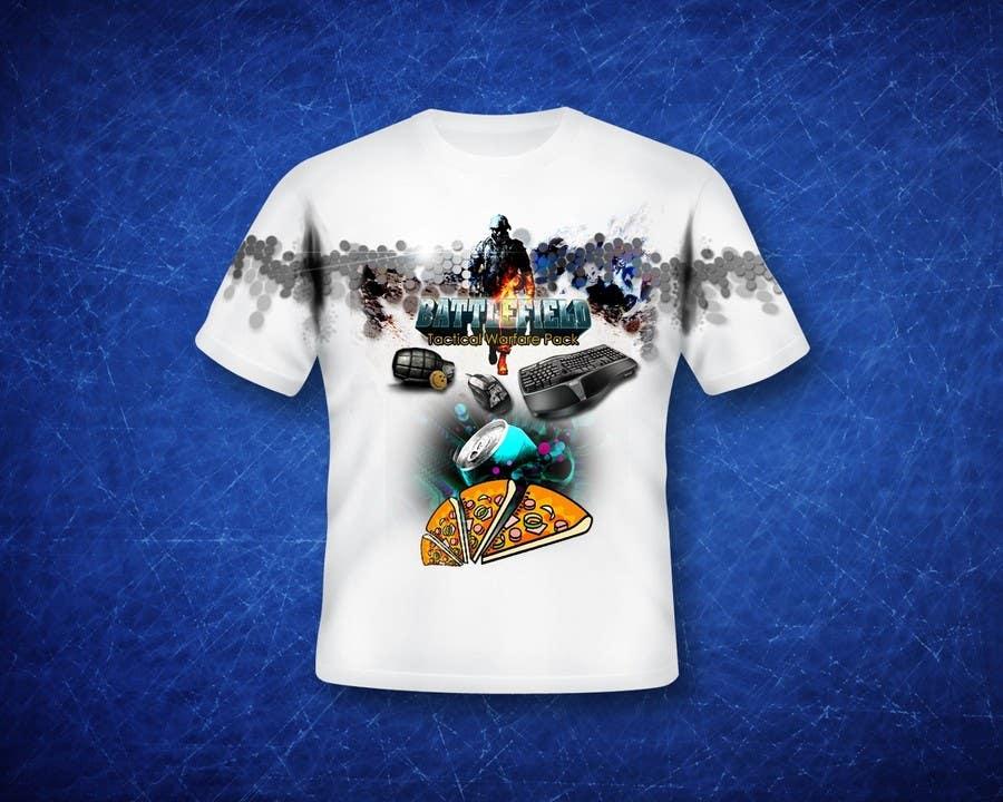 Proposition n°                                        18                                      du concours                                         Battlefield Tactical Warfare Pack [Gaming] T-shirt Design