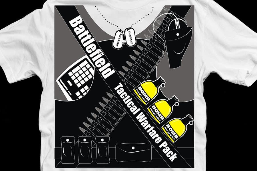 Proposition n°                                        58                                      du concours                                         Battlefield Tactical Warfare Pack [Gaming] T-shirt Design