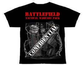 #50 untuk Battlefield Tactical Warfare Pack [Gaming] T-shirt Design oleh Anmech
