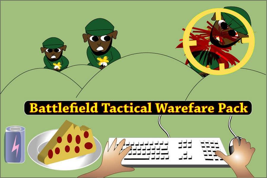 Proposition n°                                        57                                      du concours                                         Battlefield Tactical Warfare Pack [Gaming] T-shirt Design