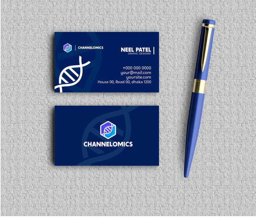 Proposition n°712 du concours Corporate Identity for a Biotech Startup.