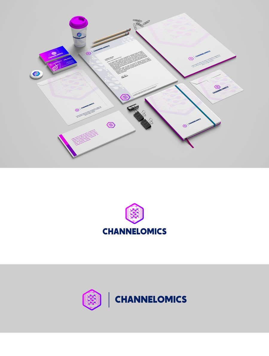 Contest Entry #716 for Corporate Identity for a Biotech Startup.