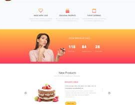 #14 para E-commerce site for cake shop por asmitjoy17