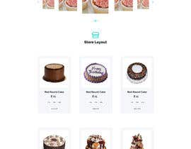 #22 para E-commerce site for cake shop por WhynoDev