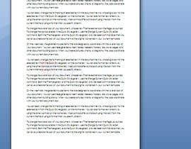#16 untuk convert A4 PSD file to microsoft word template (dotx) A4 file oleh Ziachaudhary7878