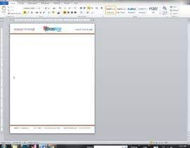 #13 untuk convert A4 PSD file to microsoft word template (dotx) A4 file oleh muhammadrahim699