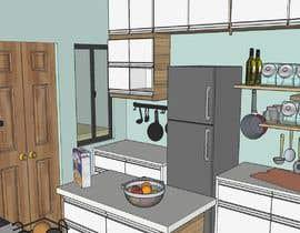 #21 para design a kitchen with island counter de misalpingua03