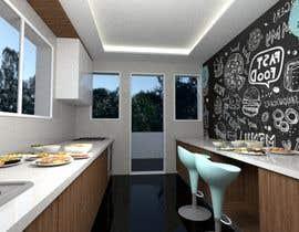 #11 para design a kitchen with island counter de abdomostafa2008