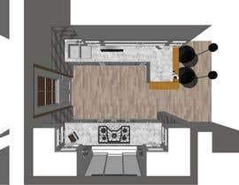 #16 para design a kitchen with island counter de pratyushyadav