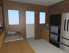 #10 para design a kitchen with island counter de ConvenientHire