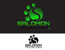#131 para Logo Design for Salomon Telecom por LorcanMcM