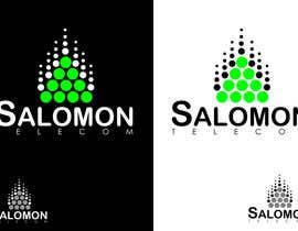 #211 para Logo Design for Salomon Telecom por nunocnh