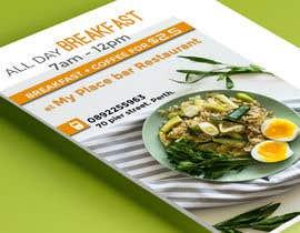 "QasimAs tarafından Poster design for ""Breakfast menu + coffee for $2.5"" için no 16"