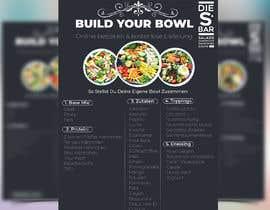 #10 für Menu design von Saba08z