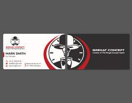 #118 untuk Grenat Concept - Create letterhead and business cards designs ready for production oleh sohelrana210005