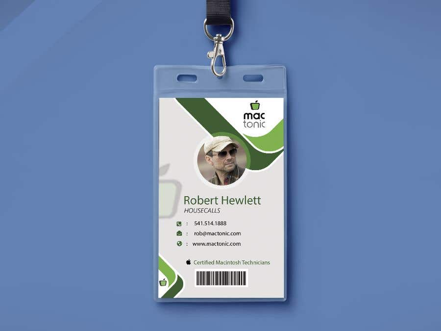 Entry 62 By Ayishascorpio For Create Employee Id Badge