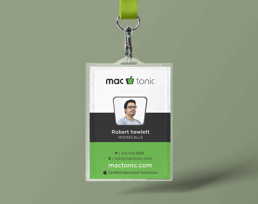 Entry 26 By Shiblee10 For Create Employee Id Badge Template